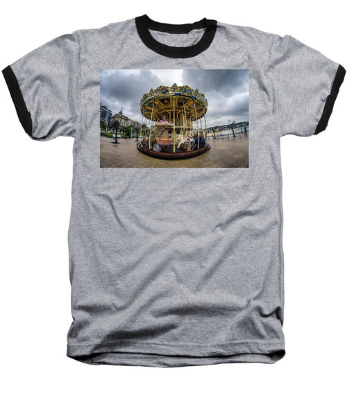 Merry-go-round Baseball T-Shirt