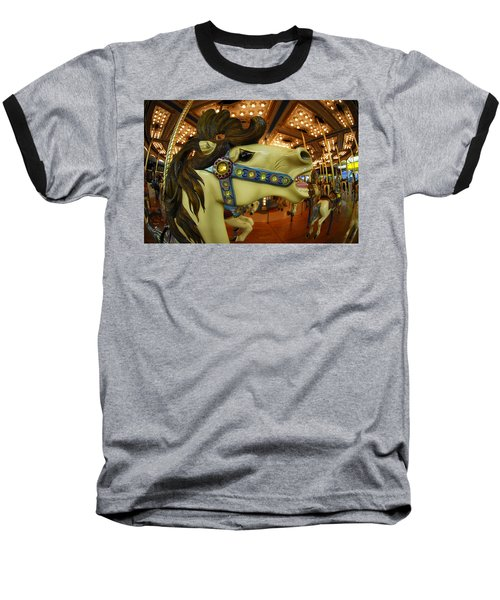 Baseball T-Shirt featuring the photograph Merry Go Round by Sami Martin