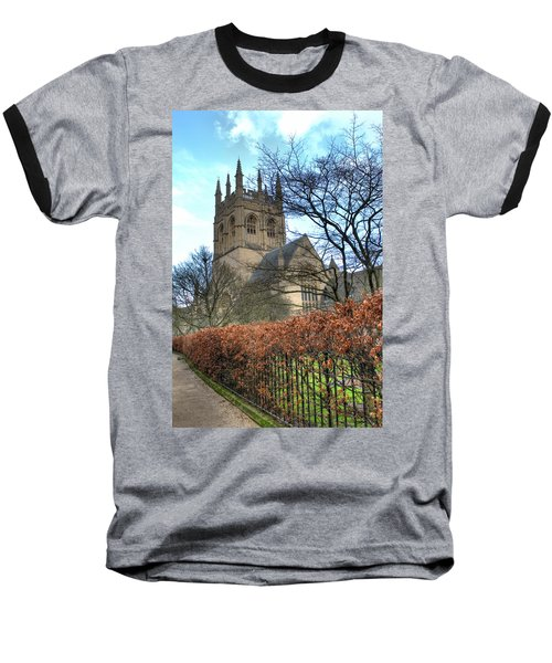 Merton College Chapel Baseball T-Shirt