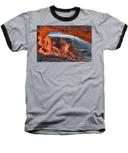 Mesa Arch Frame Baseball T-Shirt