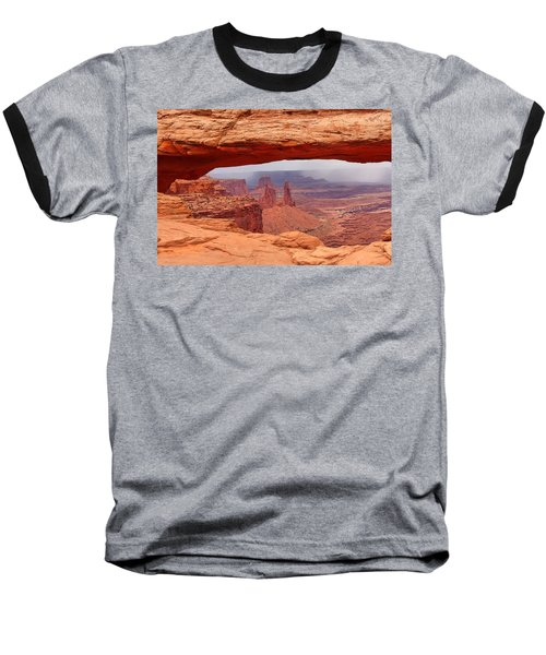 Mesa Arch In Canyonlands National Park Baseball T-Shirt
