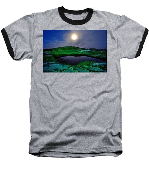 Baseball T-Shirt featuring the photograph Mesa Arch In Green by David Andersen