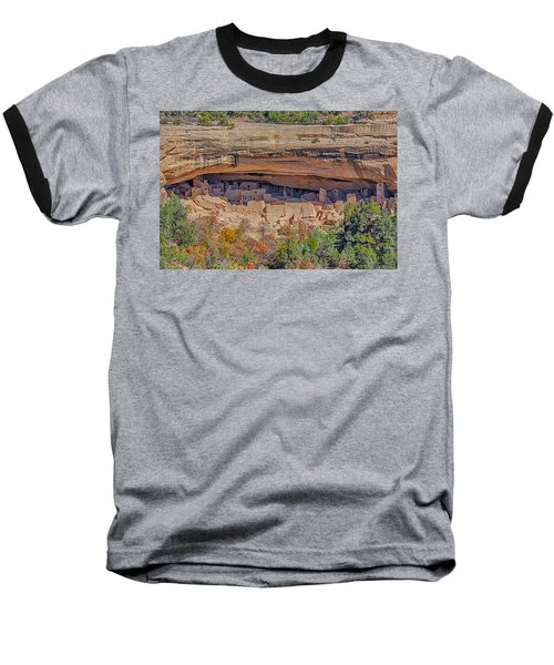 Mesa Verde Cliff Dwelling Baseball T-Shirt