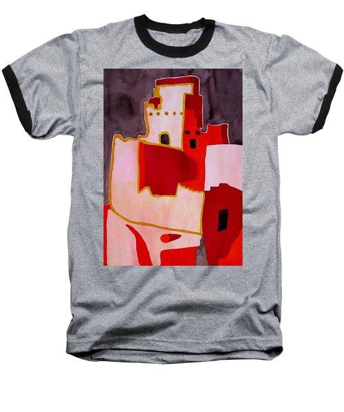 Mesa Verde Original Painting Sold Baseball T-Shirt by Sol Luckman