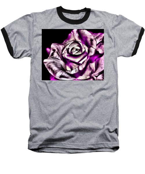 Mesmerizing Rose Baseball T-Shirt