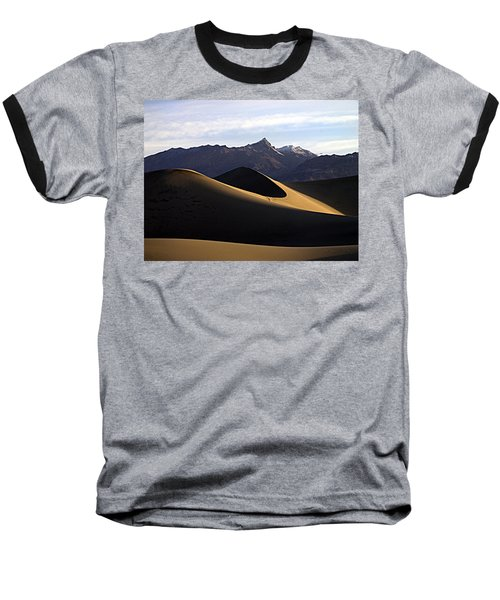 Mesquite Dunes At Dawn Baseball T-Shirt by Joe Schofield