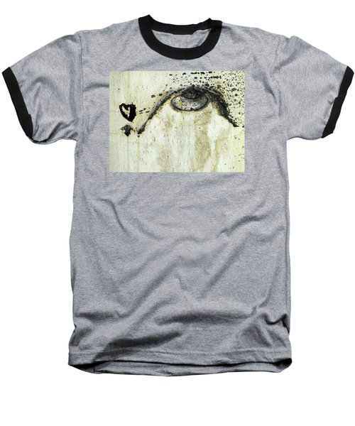 Baseball T-Shirt featuring the photograph Message From An Aspen by Lanita Williams