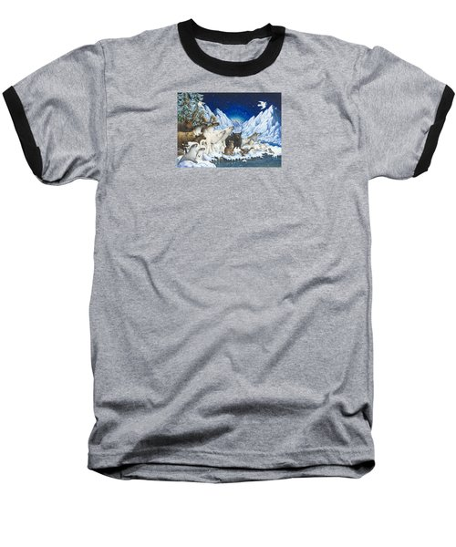 Message Of Peace Baseball T-Shirt