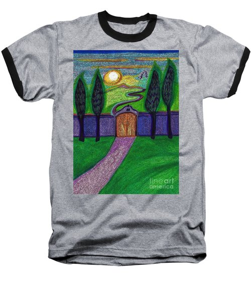 Metaphor Door By Jrr Baseball T-Shirt