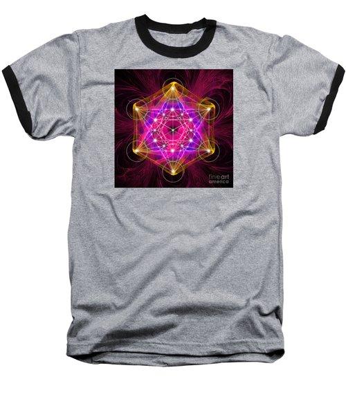 Metatron Cube  Baseball T-Shirt
