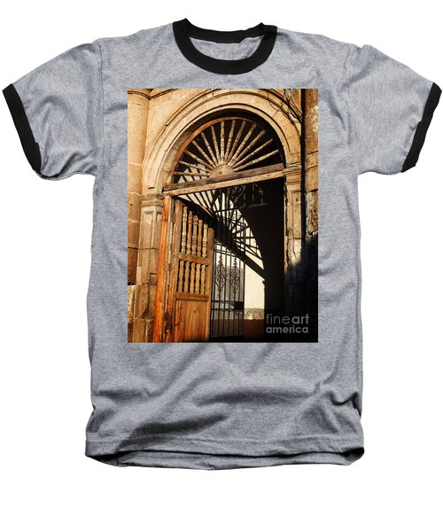 Mexican Door 27 Baseball T-Shirt