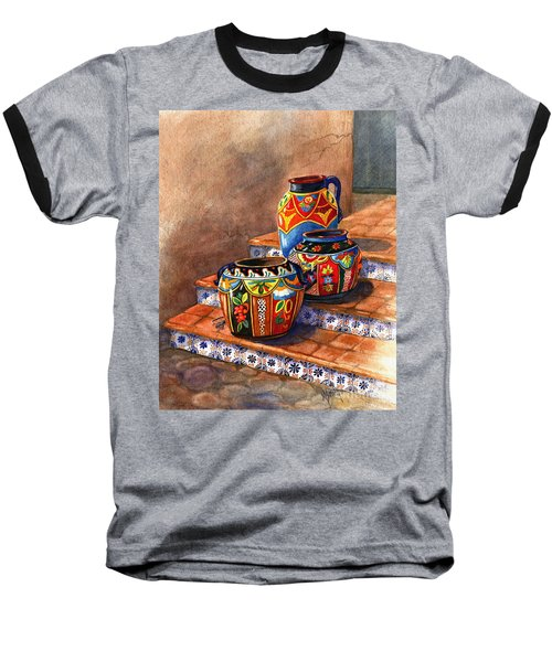 Mexican Pottery Still Life Baseball T-Shirt