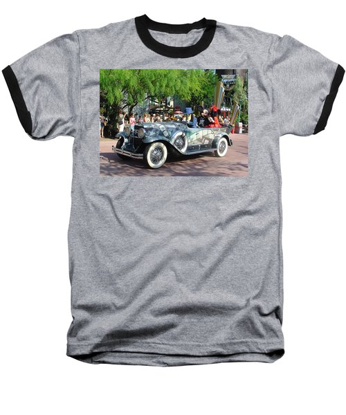 Baseball T-Shirt featuring the photograph Mgm Famous 4 by David Nicholls