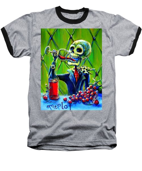 Mi Merlot Baseball T-Shirt