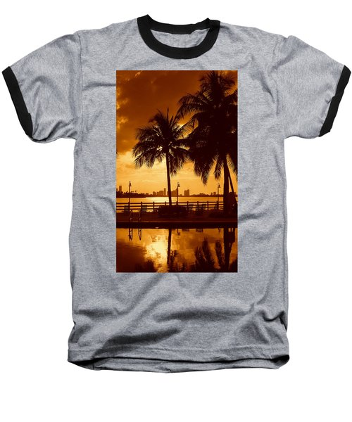 Miami South Beach Romance II Baseball T-Shirt