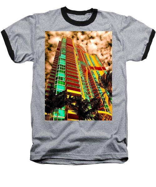 Miami South Pointe II Highrise Baseball T-Shirt
