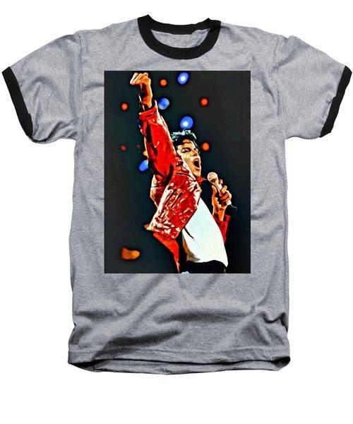 Michael Baseball T-Shirt by Florian Rodarte