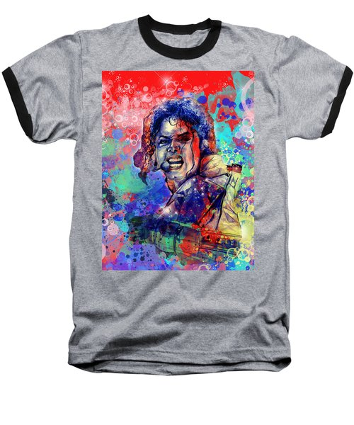 Michael Jackson 8 Baseball T-Shirt