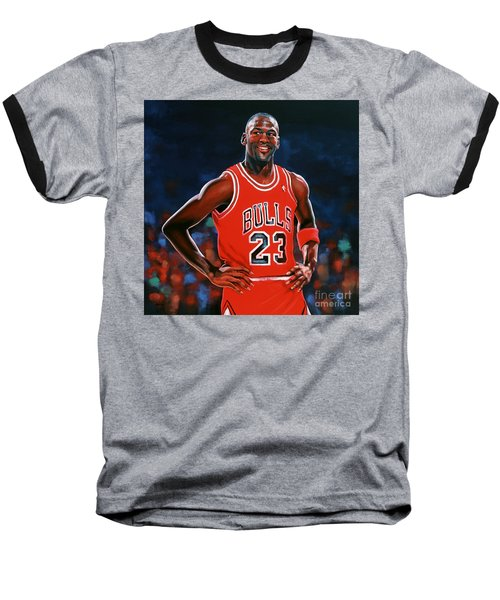 Michael Jordan Baseball T-Shirt