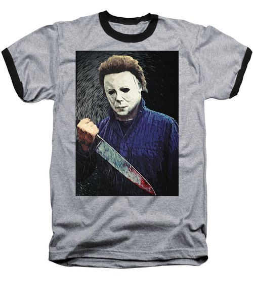 Michael Myers  Baseball T-Shirt