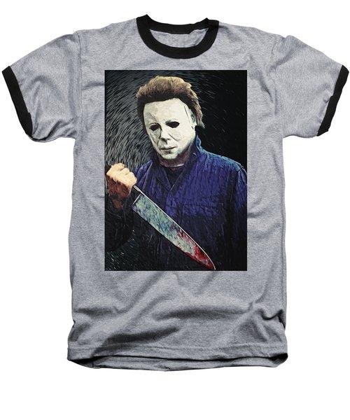 Michael Myers  Baseball T-Shirt