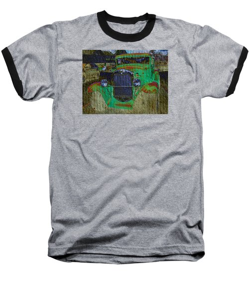 Baseball T-Shirt featuring the photograph Michigan Coupe by MJ Olsen