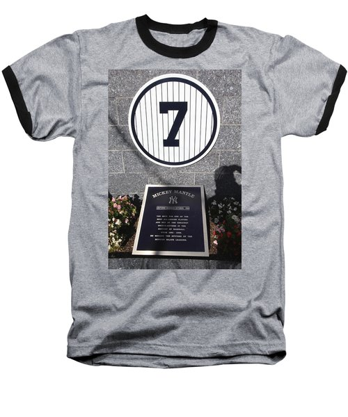 Mickey Mantle Baseball T-Shirt