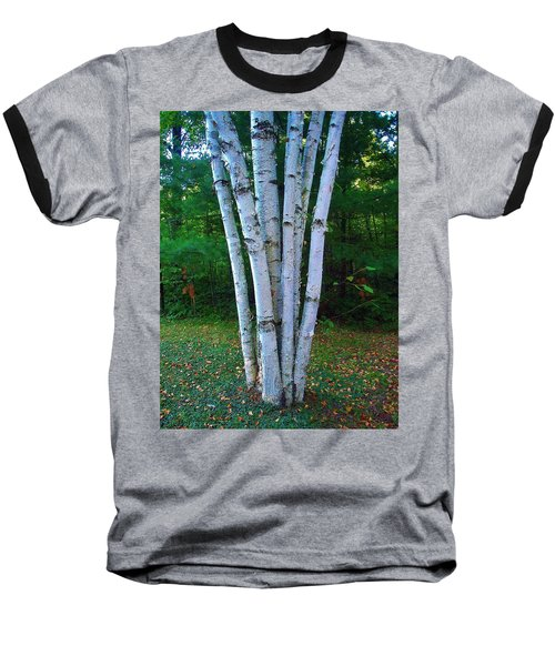 Baseball T-Shirt featuring the photograph Micro-grove by Daniel Thompson