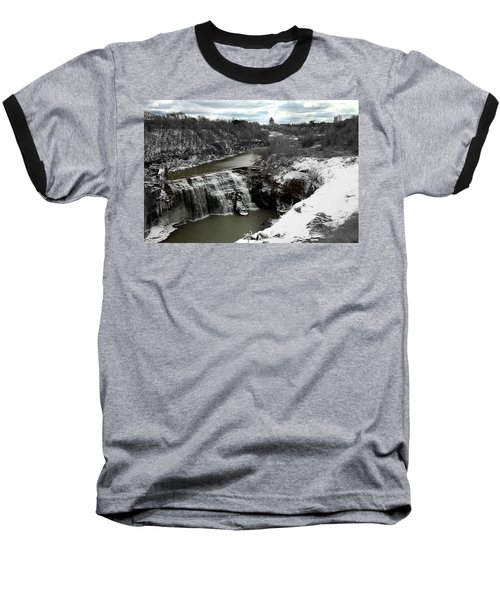 Middle Falls Rochester Ny Baseball T-Shirt by Richard Engelbrecht
