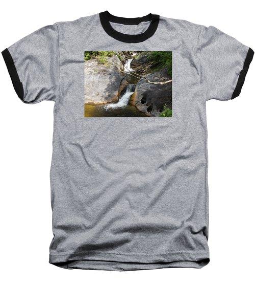 Middle Kent Falls Baseball T-Shirt