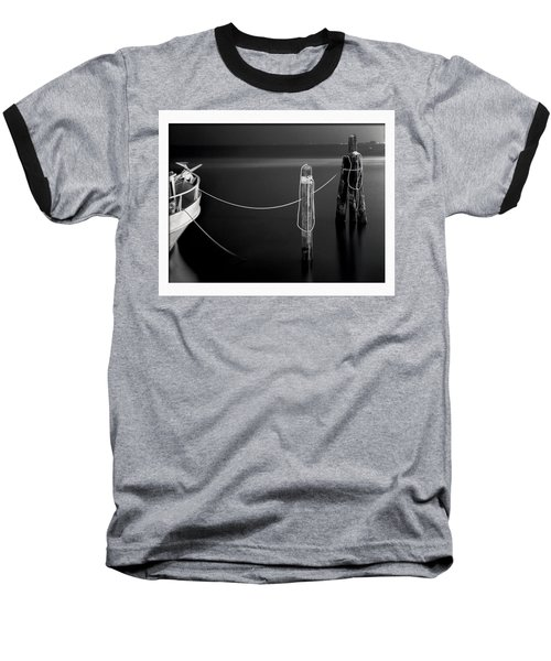Midnight Calm Baseball T-Shirt