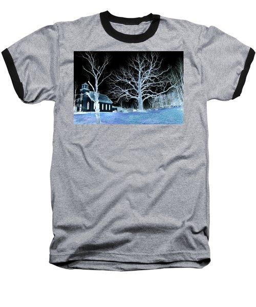 Midnight Country Church Baseball T-Shirt