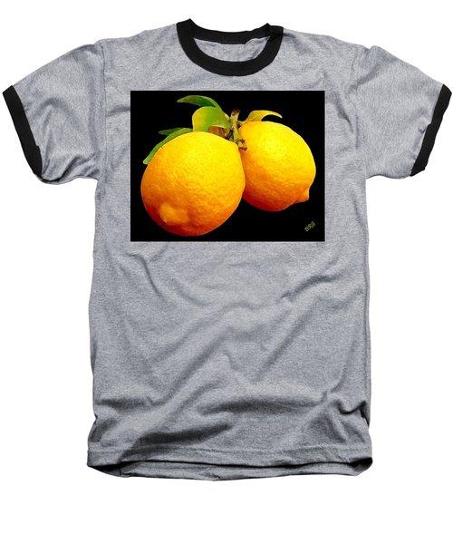 Midnight Lemons Baseball T-Shirt