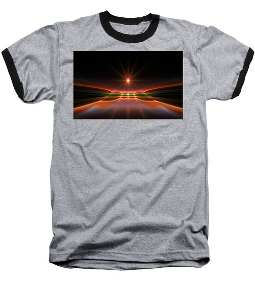 Midnight Sun Baseball T-Shirt