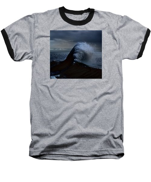 Midnight Swim Baseball T-Shirt