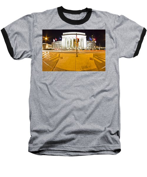 Midnight Train From Philly Baseball T-Shirt