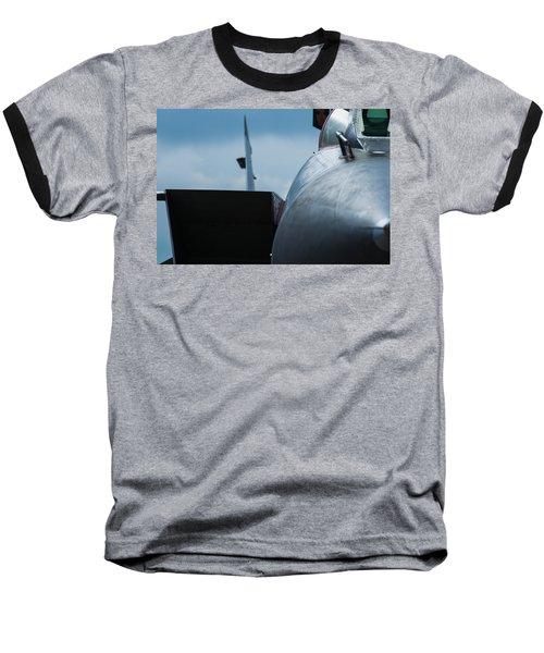 Mig-31 Interceptor Baseball T-Shirt by Alexander Senin