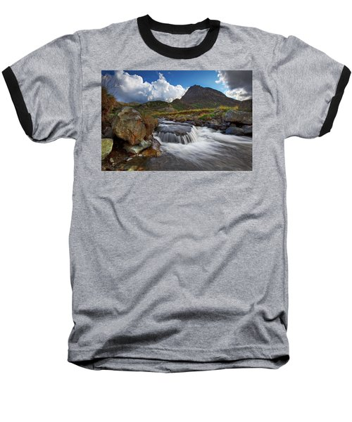 Mighty Tryfan  Baseball T-Shirt by Beverly Cash