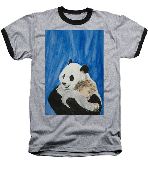 Mika And Panda Baseball T-Shirt
