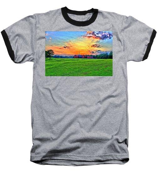 Milan First United Methodist Church Baseball T-Shirt