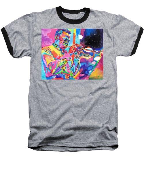 Miles Davis Bebop Baseball T-Shirt