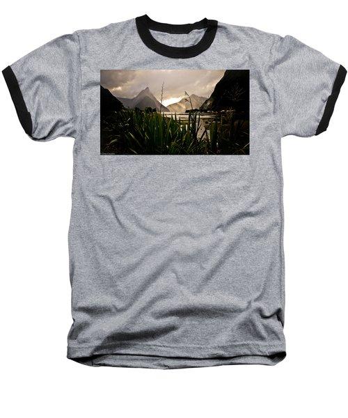 Milford Sound Baseball T-Shirt