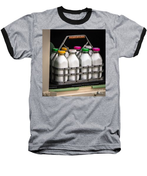 Milk Bottles Baseball T-Shirt