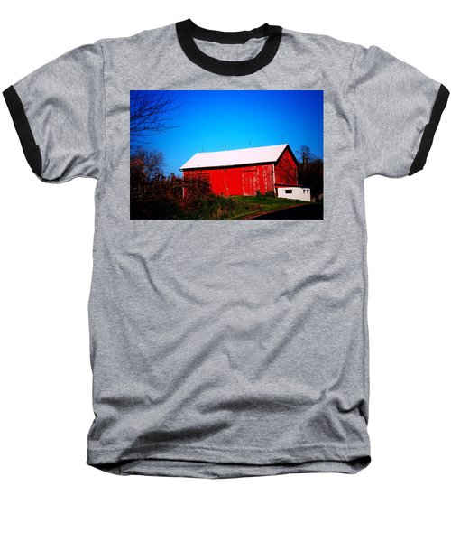 Milk House And Barn Baseball T-Shirt