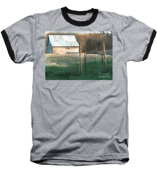 Milking Time Baseball T-Shirt