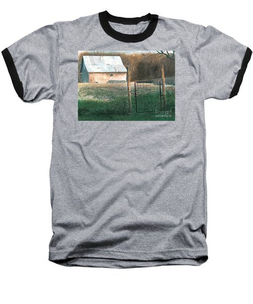 Milking Time Baseball T-Shirt