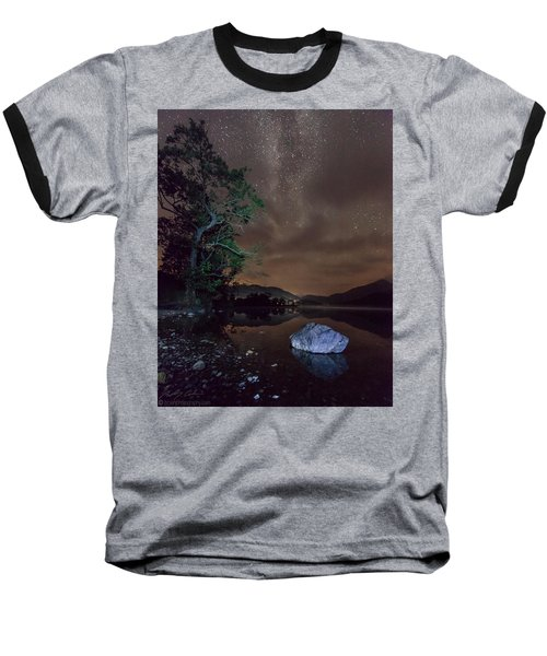 Milky Way At Gwenant Baseball T-Shirt by Beverly Cash