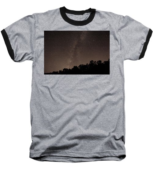 Milky Way Baseball T-Shirt by Richard Engelbrecht