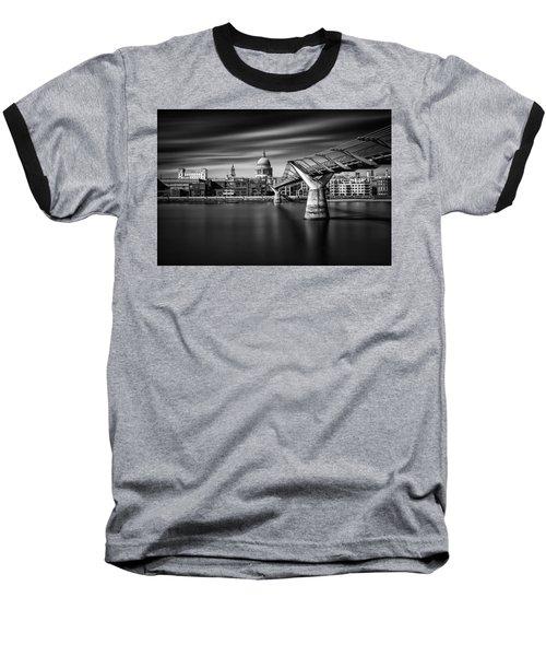 Millennium Bridge Baseball T-Shirt