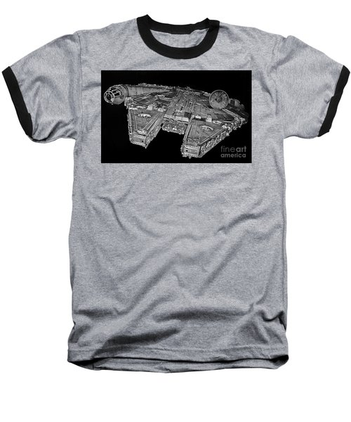 Millennium Falcon Baseball T-Shirt